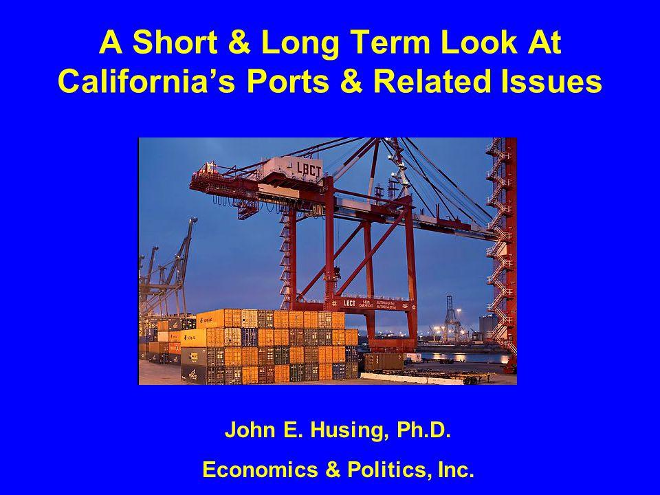 Slowdown Why The Short Term Port Slowdown ?