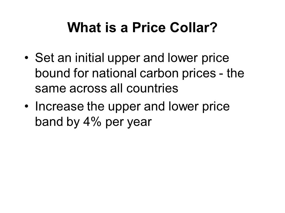 What is a Price Collar.