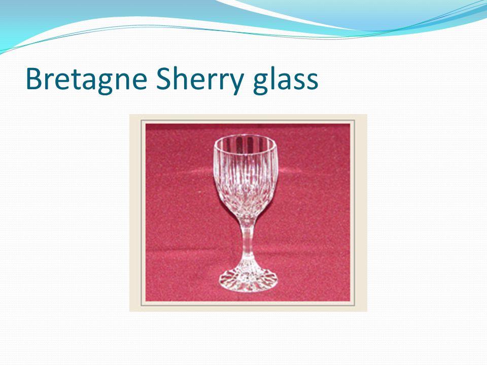 Bretagne Sherry glass