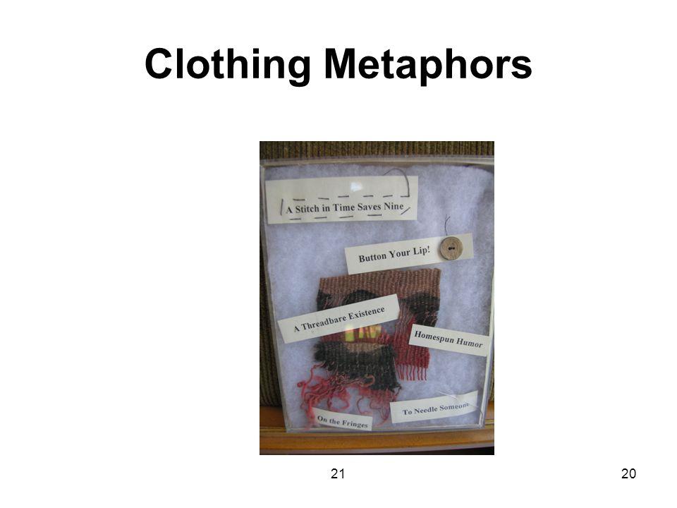 2120 Clothing Metaphors