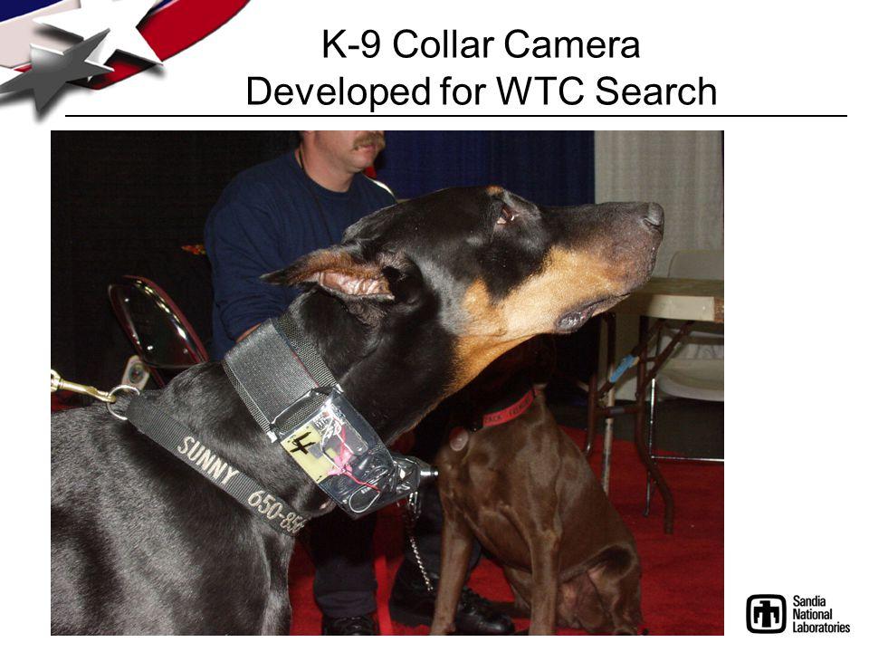 K-9 Collar Camera Developed for WTC Search