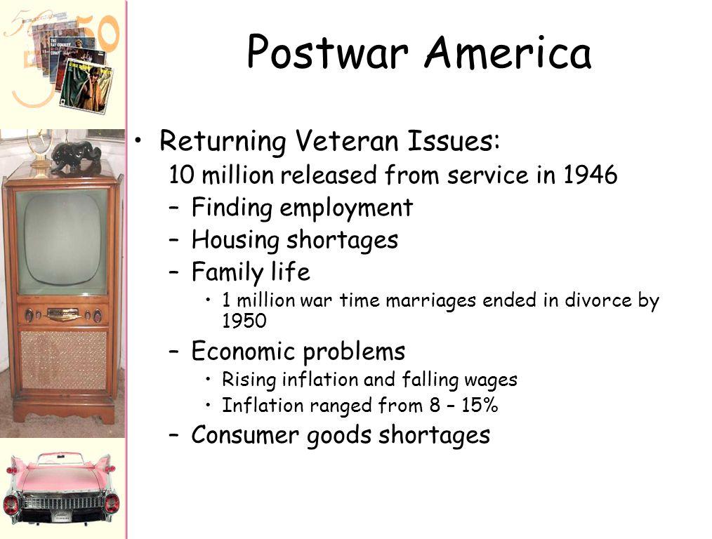AP US History THE 1950s: POST WAR AMERICA