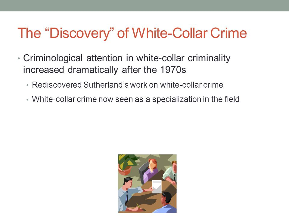 Theories of White-Collar Crime— Benson: Denying a Guilty Mind To effectively deny the guilty mind, the offender must: 1.