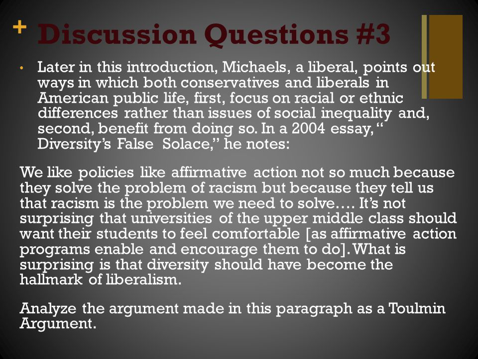 affirmative action is racial discrimination essay
