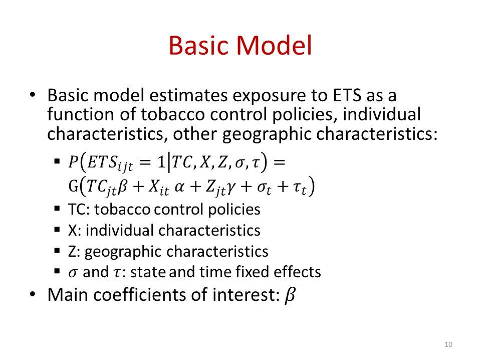 Basic Model 10
