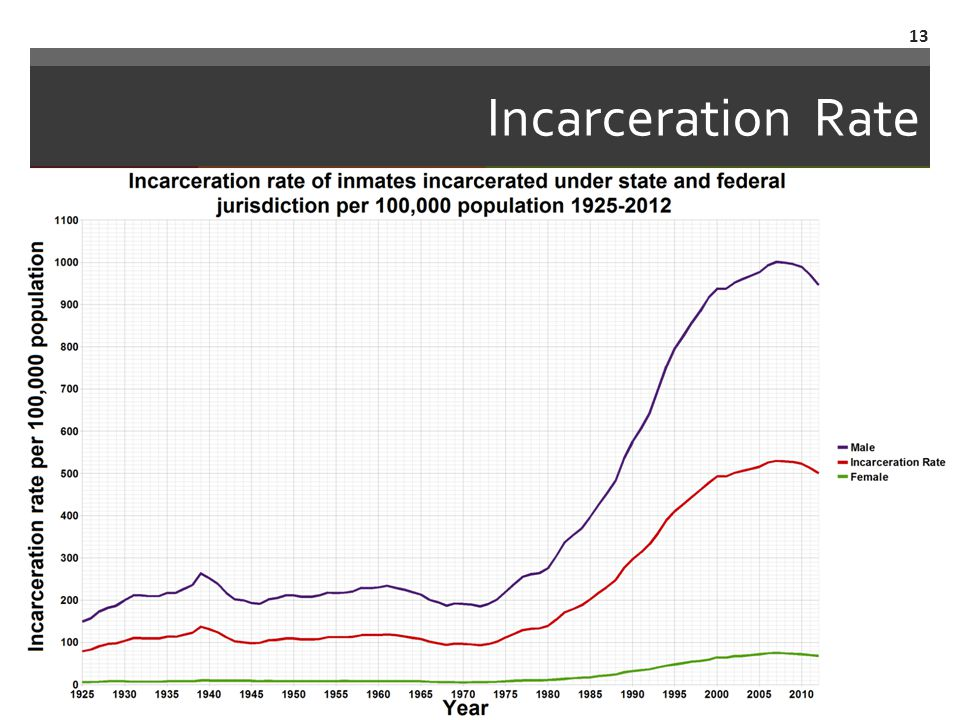 Incarceration Rate 13