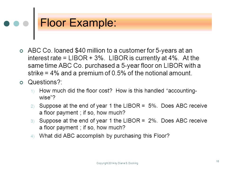 Floor Example: ABC Co.