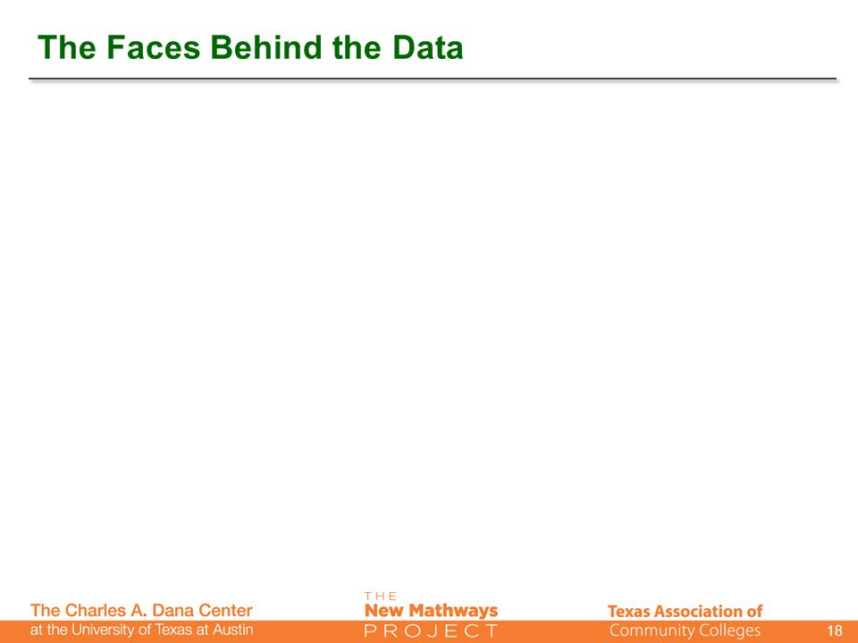 The Faces Behind the Data 18