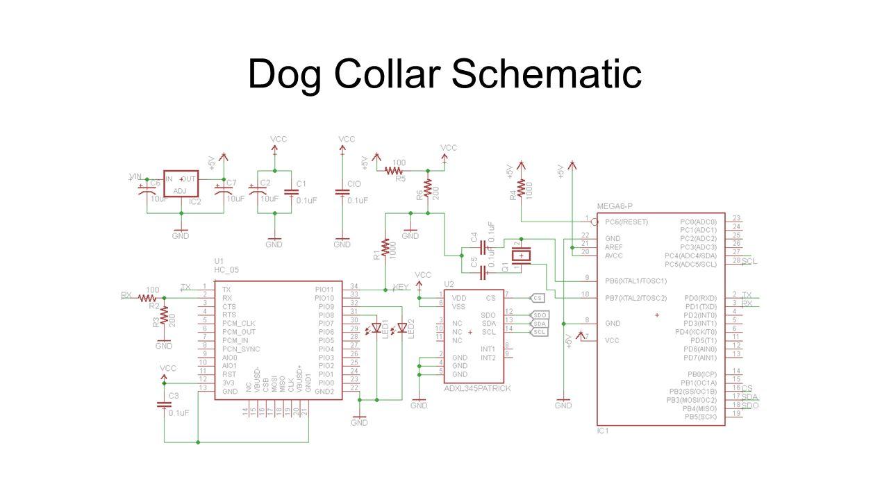 Dog Collar Schematic
