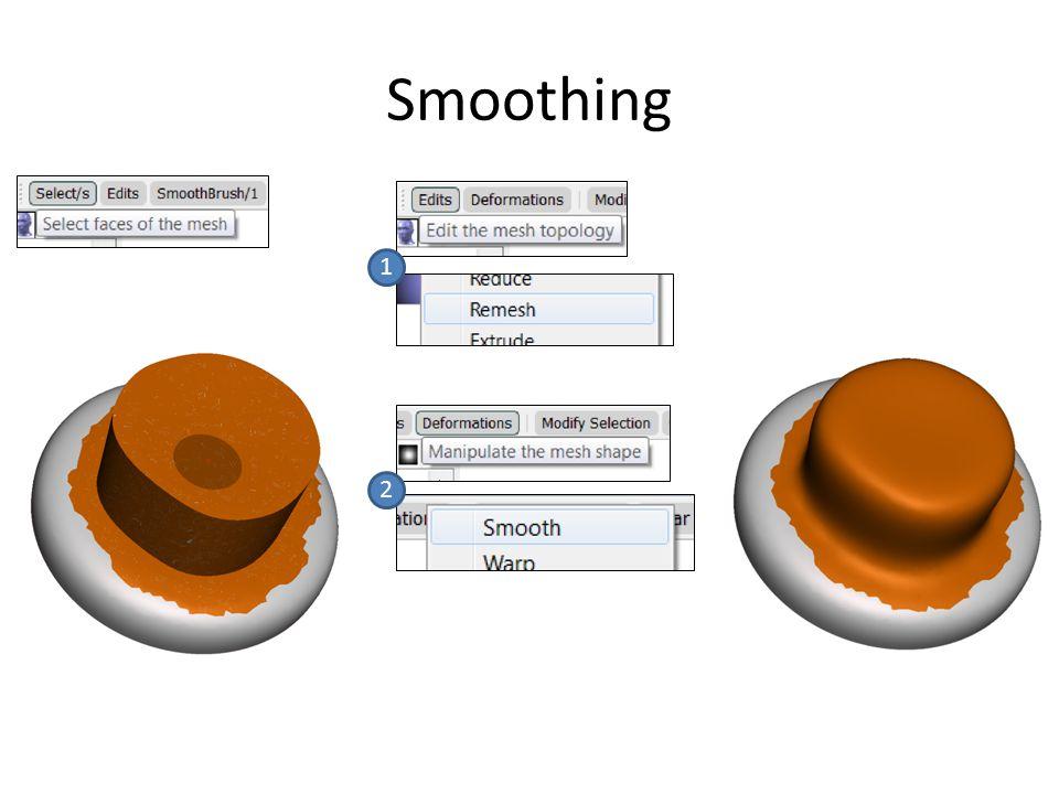 Smoothing 1 2