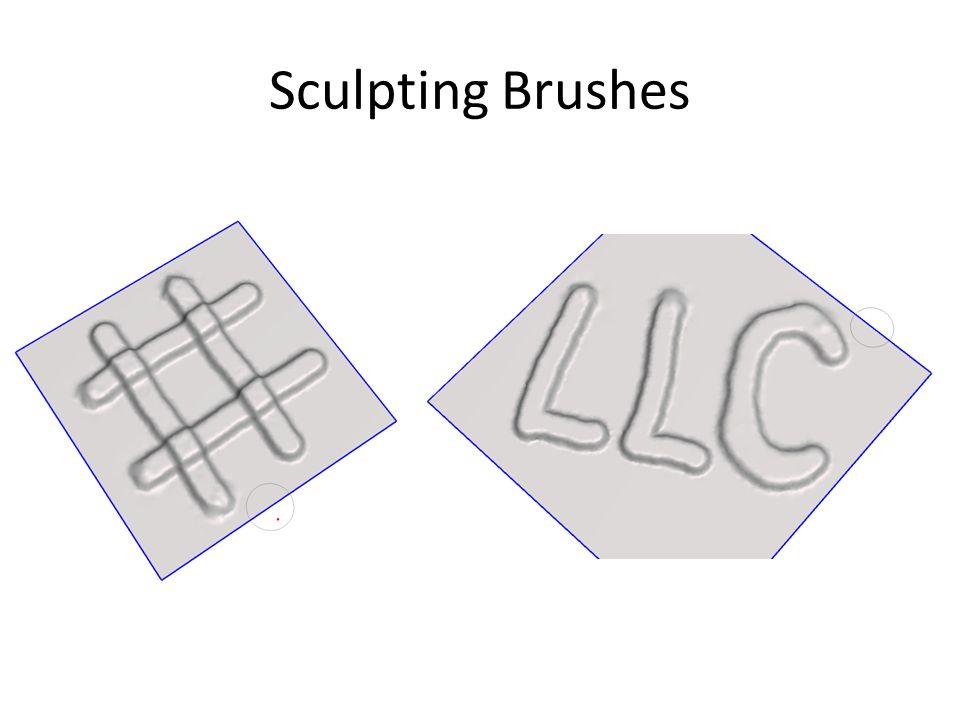Sculpting Brushes