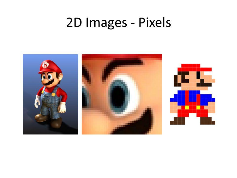2D Images - Pixels