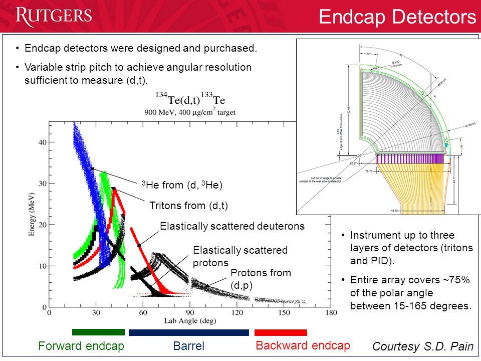 Endcap Detectors Endcap detectors were designed and purchased.