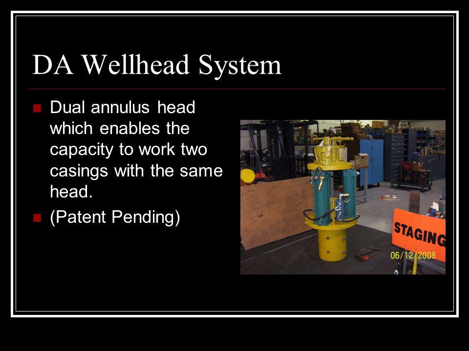 DA Casing Centralizer To be utilized before installing the DA head (Patent Pending)