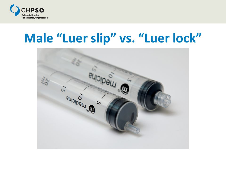 "Male ""Luer slip"" vs. ""Luer lock"""