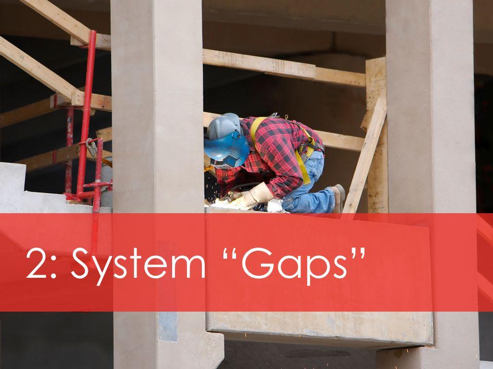 2: System Gaps