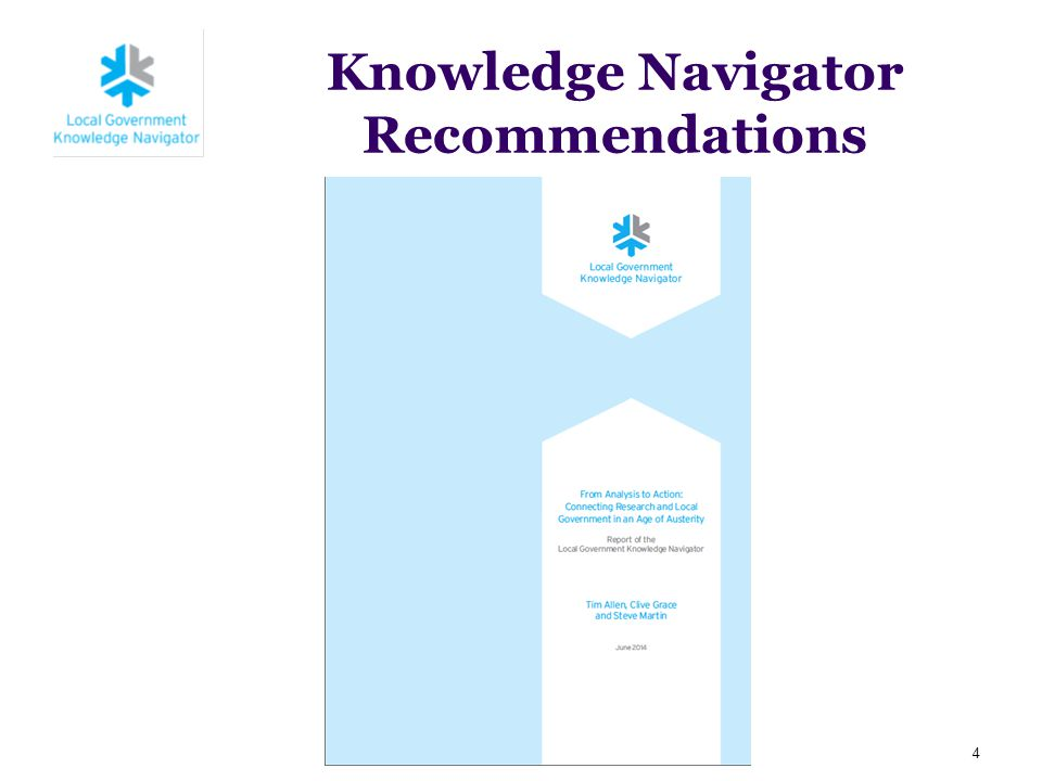 Knowledge Navigator Recommendations 4