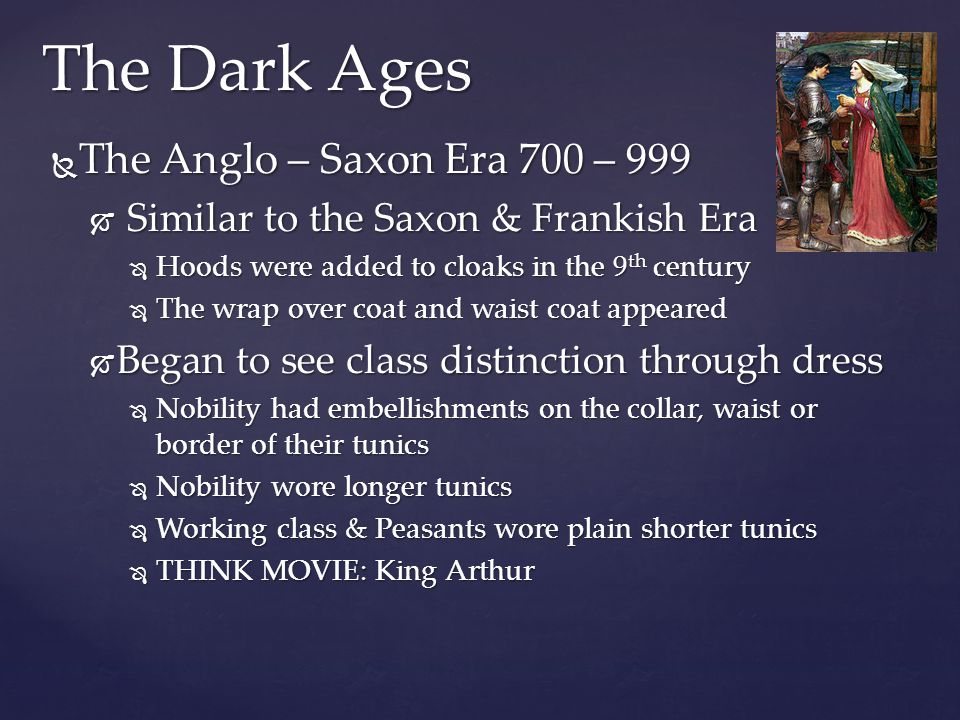 The Dark Ages Anglo-Saxon King & Queen Anglo-Saxon Lady & Women Anglo-Saxon Warrior & Man Thomas, P.W.