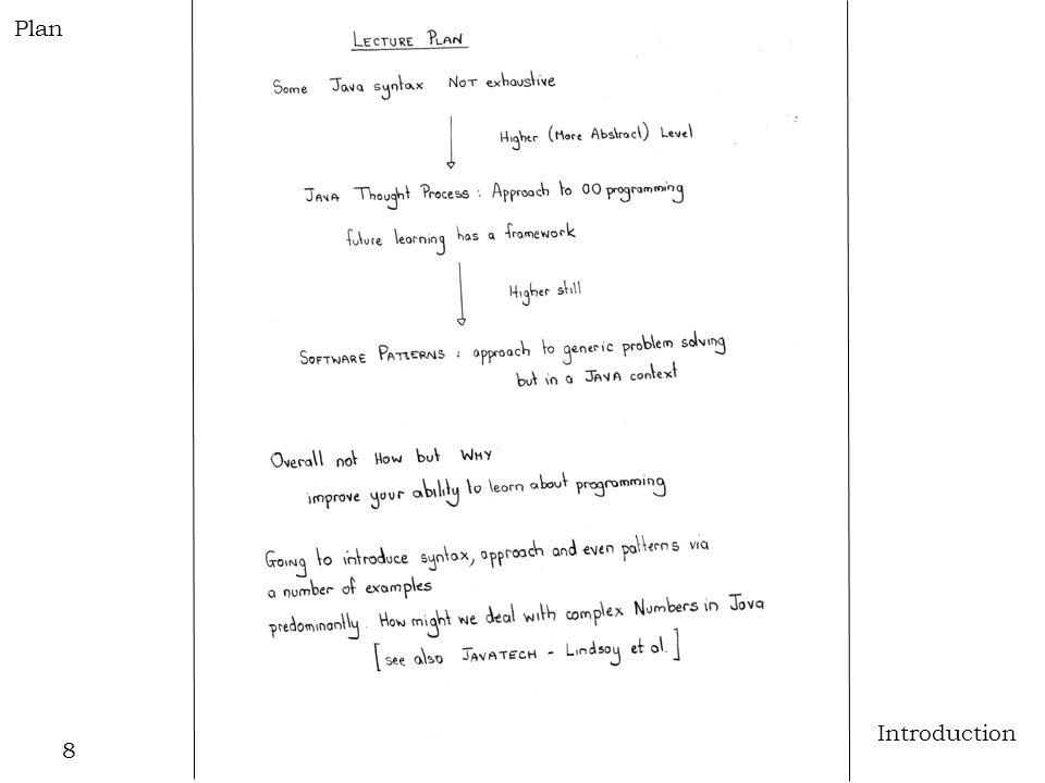 8 Introduction Plan