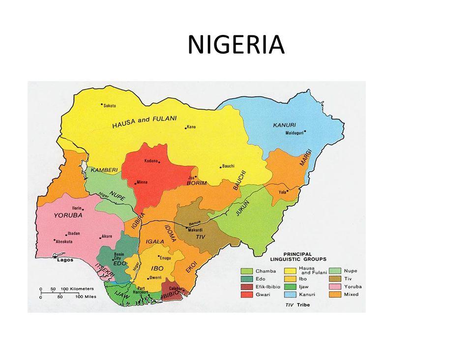 Nigeria There are 250 ethnic groups in Nigeria.