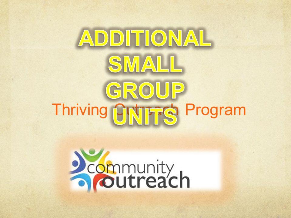 Thriving Outreach Program