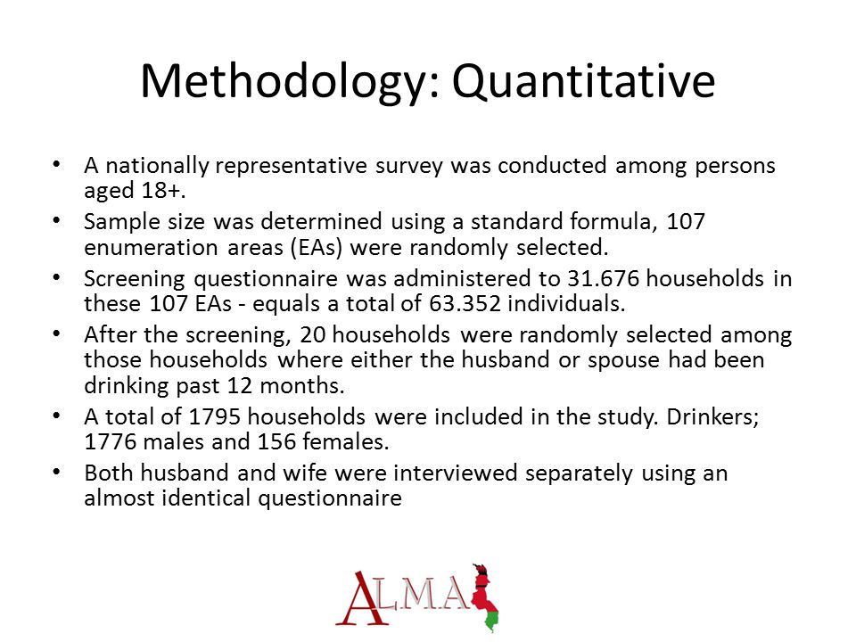 Methodology: Quantitative A nationally representative survey was conducted among persons aged 18+.