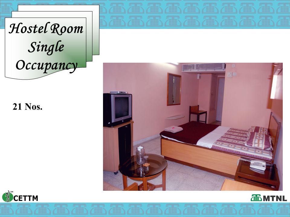 Hostel Room Single Occupancy 21 Nos.