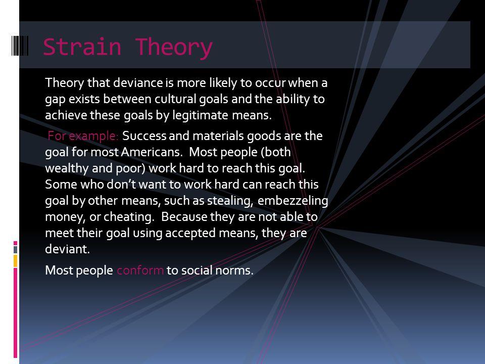 Responses to deviant behavior in strain theory.