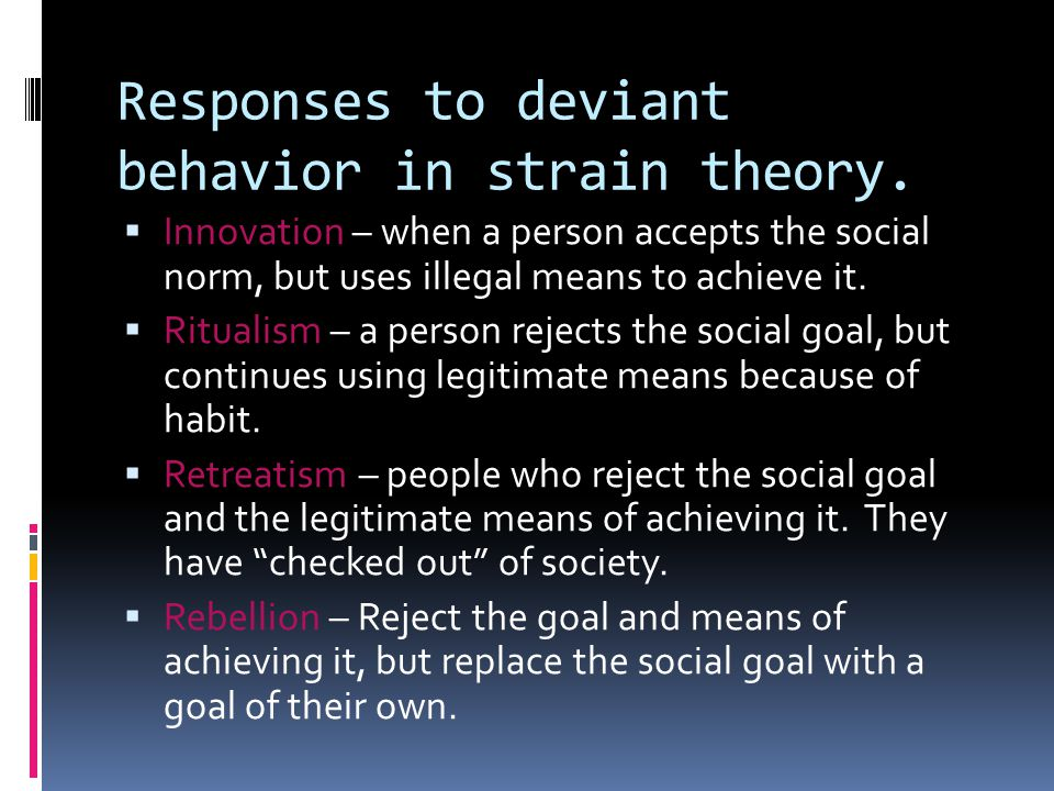 Can Primary Deviance grow into Secondary Deviance?
