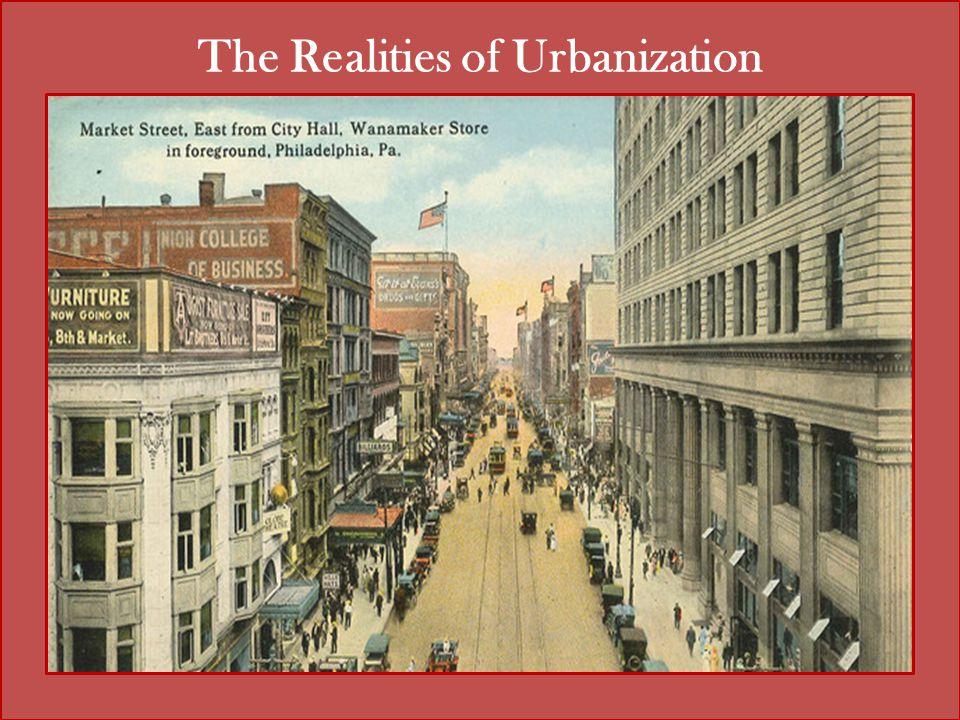 The Realities of Urbanization
