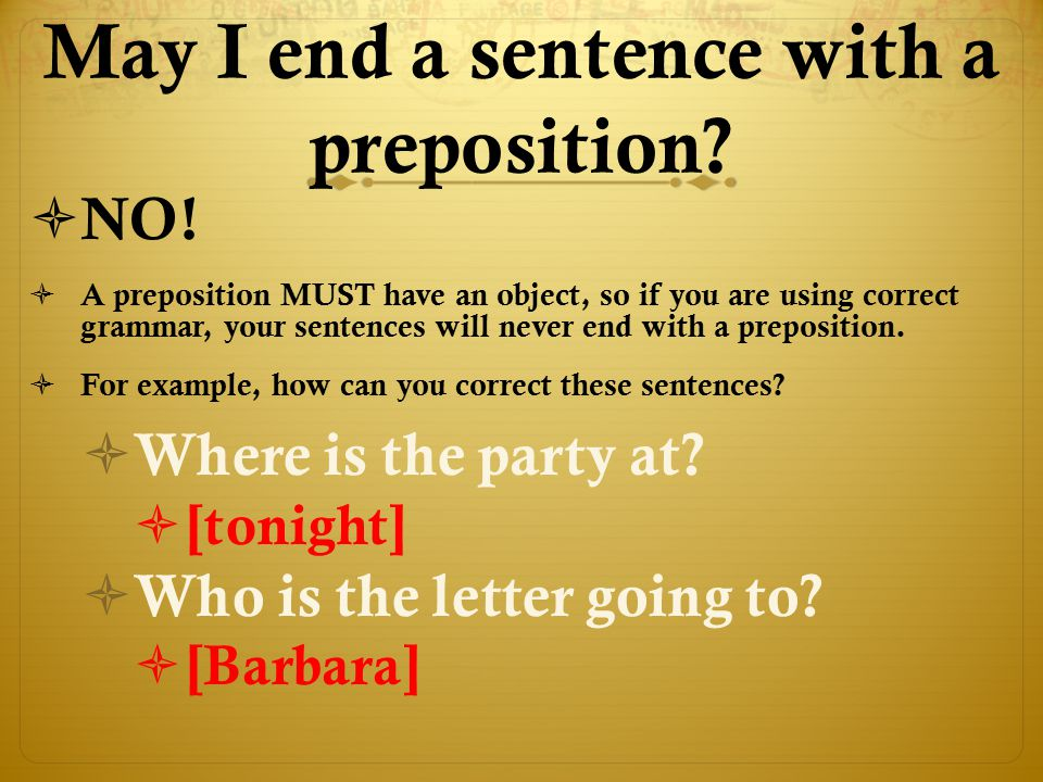 """Can a pronoun be the """"object of the preposition"""" as well? OObjects of prepositions are sometimes pronouns. SSince the subject of a sentence will N"""