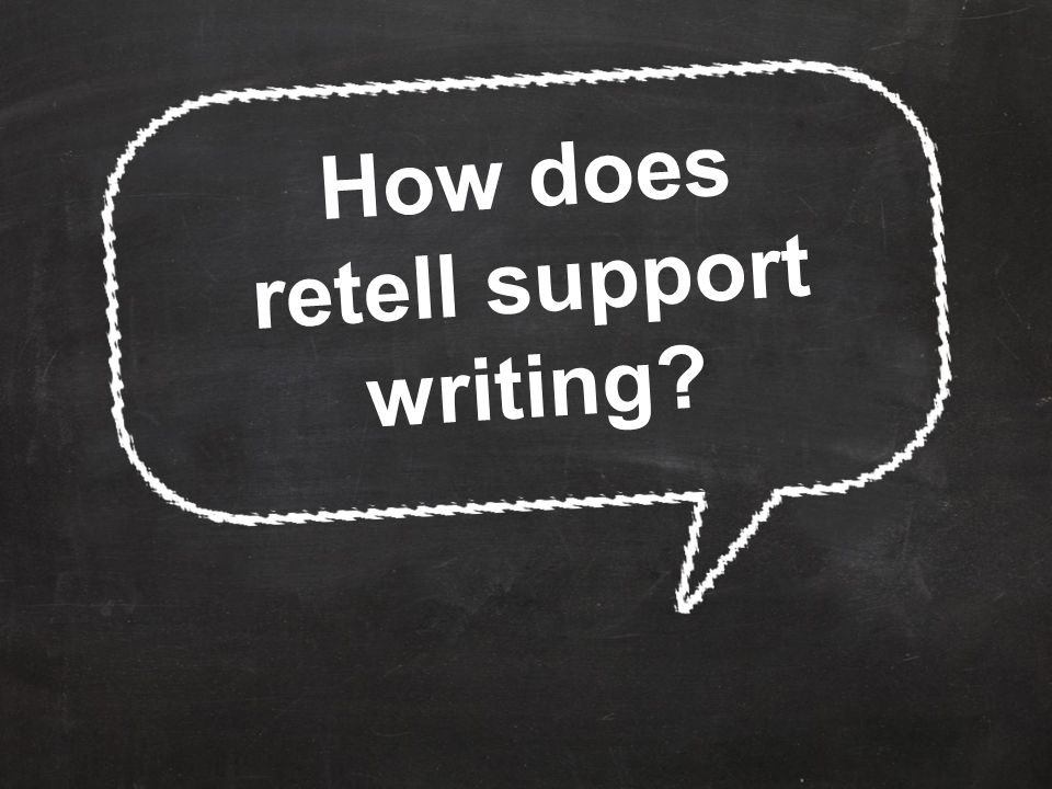 How does retell support writing