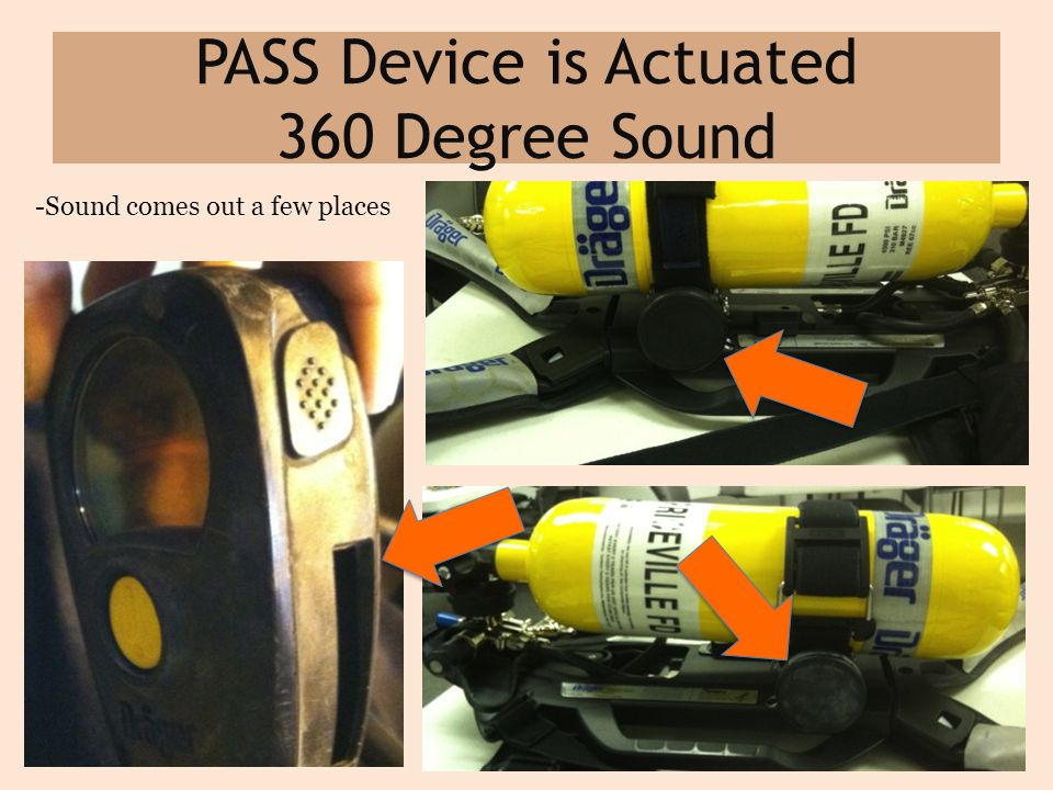 PASS Device is Actuated 360 Degree Sound -Sound comes out a few places