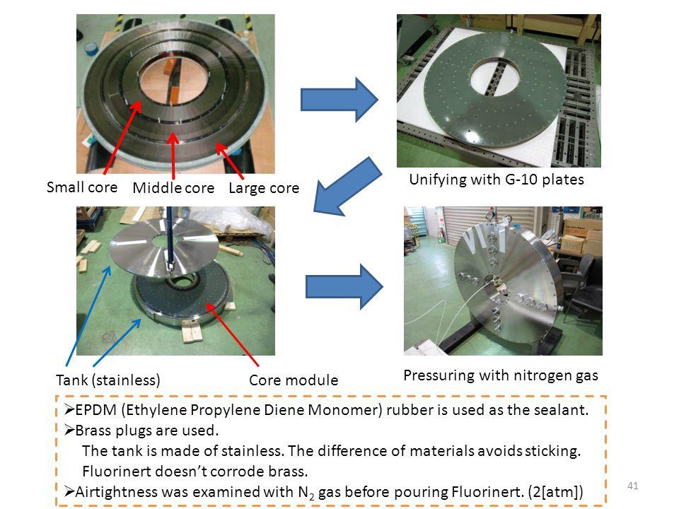  EPDM (Ethylene Propylene Diene Monomer) rubber is used as the sealant.