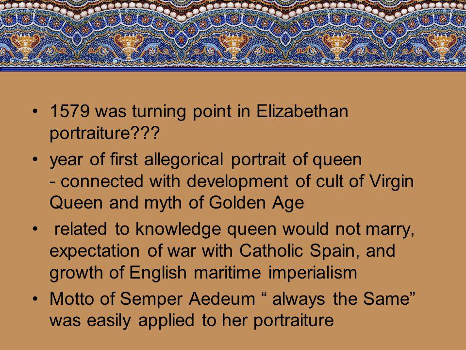 Elizabeth I: The Darnley Portrait, 1575, by an unknown artist