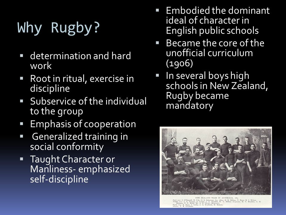 Why Rugby.