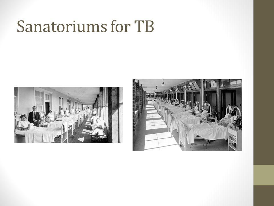 Sanatoriums for TB
