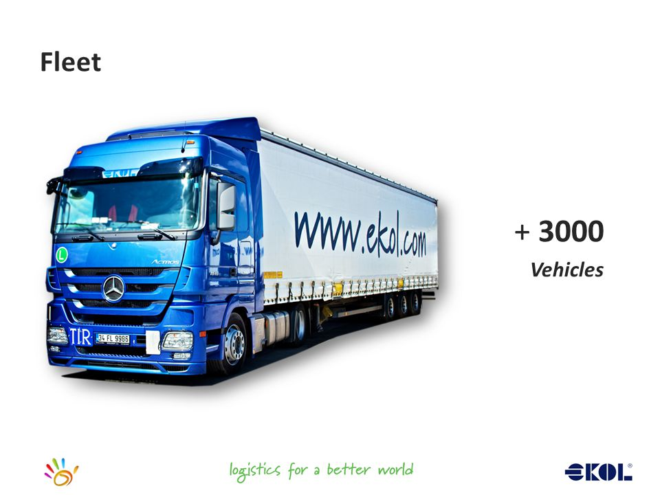 + 3000 Vehicles Fleet