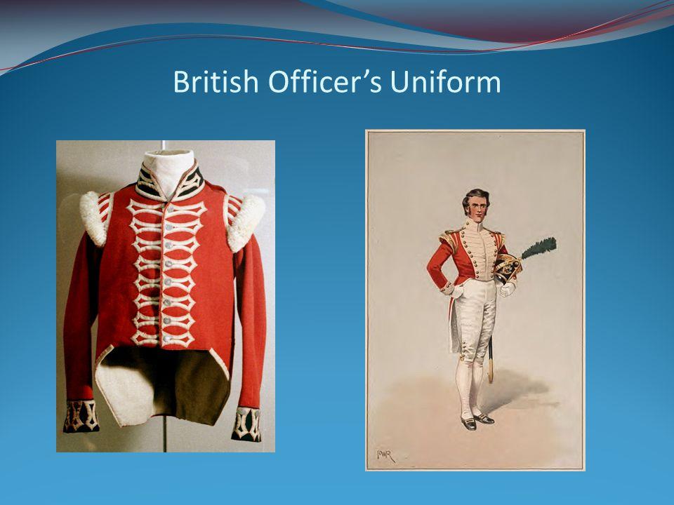 British Officer's Uniform