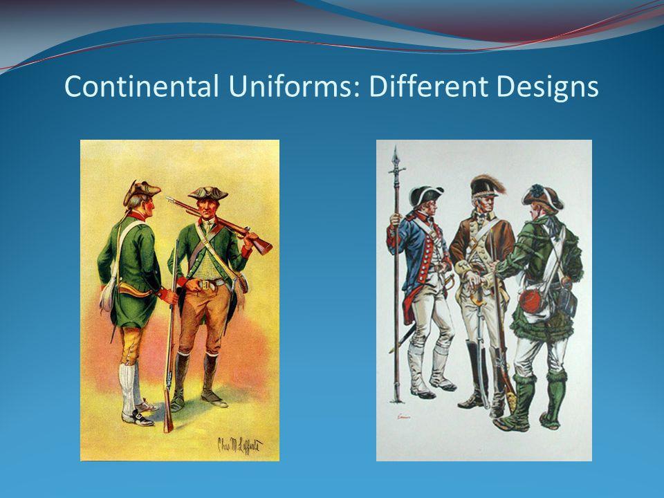 Continental Uniforms: Different Designs
