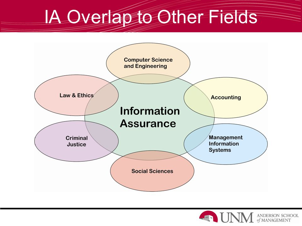 IA Overlap to Other Fields