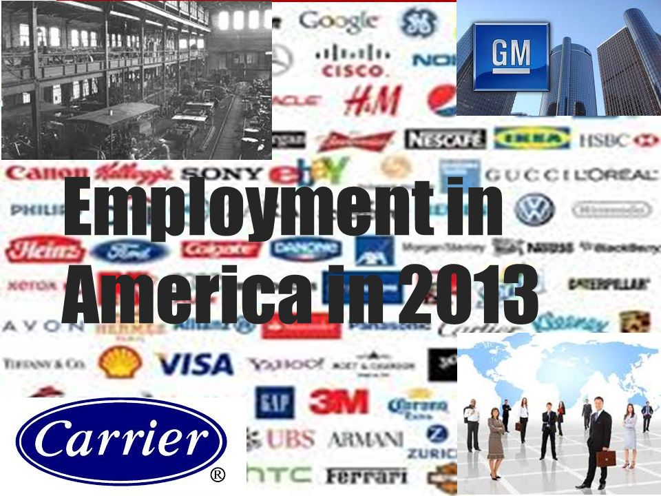 Research Question Do we see more white collar based government jobs or manufacturing jobs in small town America today?