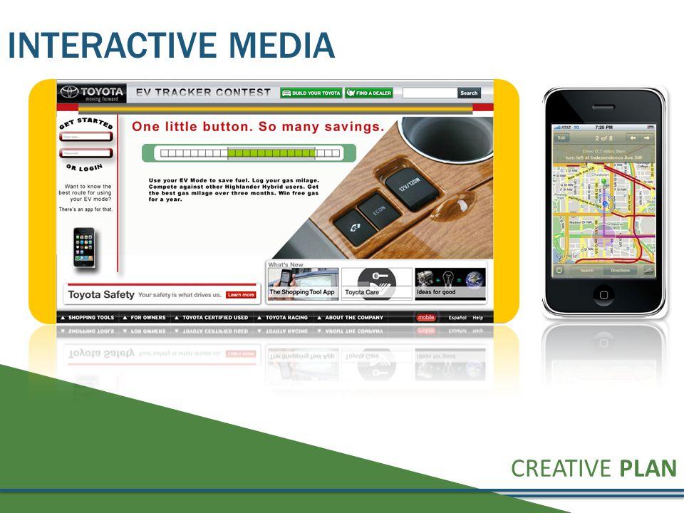 CREATIVE PLAN INTERACTIVE MEDIA