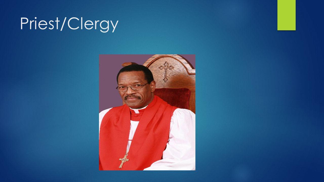 Priest/Clergy