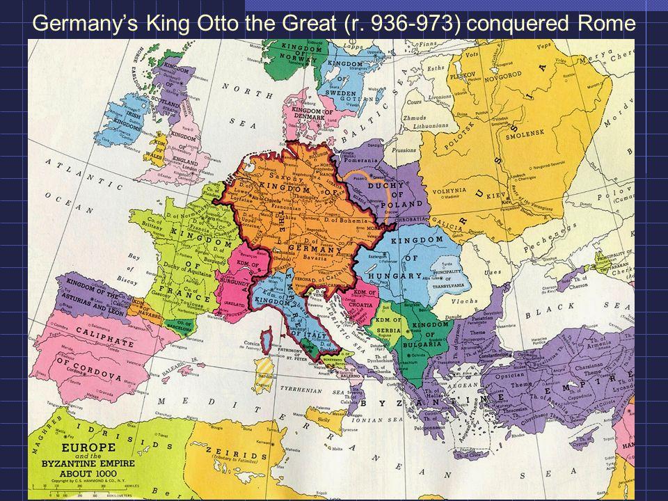 The First Reich -- The Roman Emperor Otto III (r.