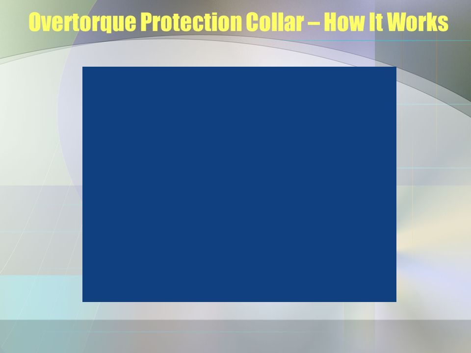 Protection Collar – Ease of Installation/Pricing $1,000-$1,500 Ea.