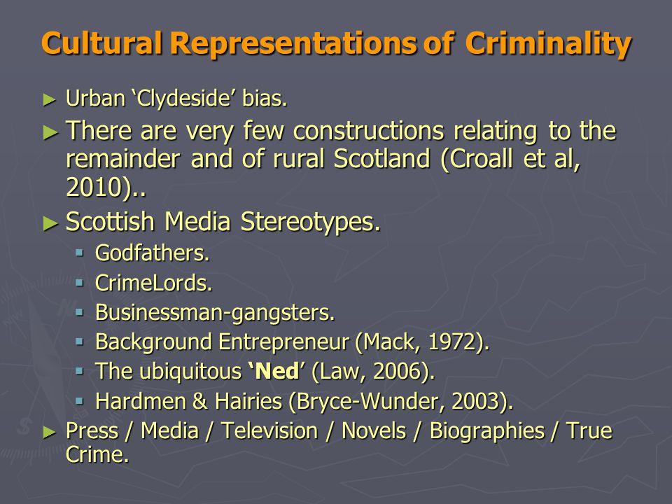 Cultural Representations of Criminality ► Urban 'Clydeside' bias.