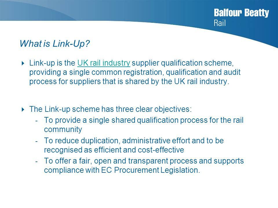 What is Link-Up.