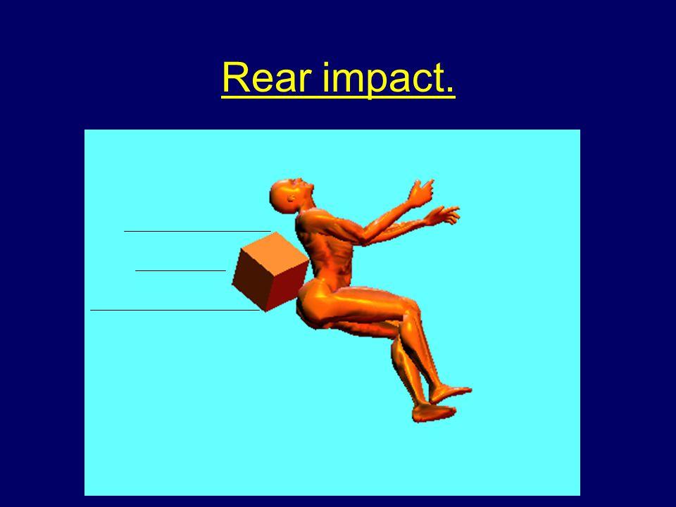 Rear impact.
