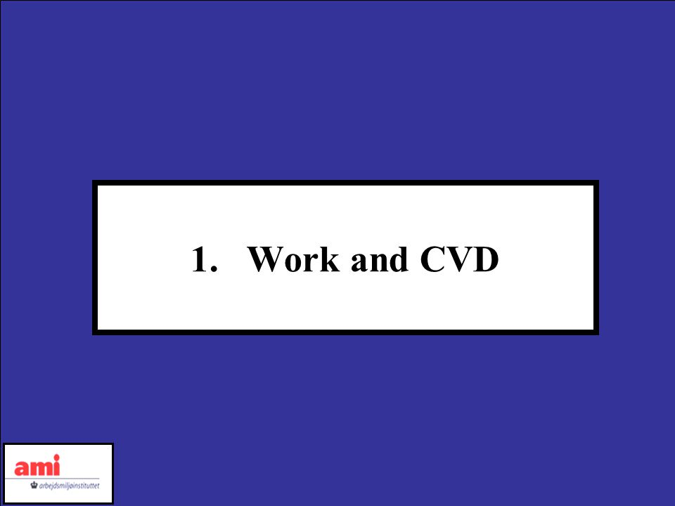 1.Work and CVD
